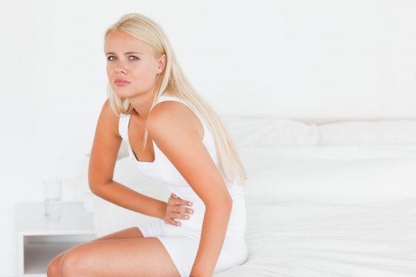 Головные боли у женщины