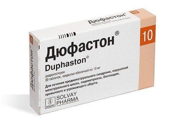 аменорею при недостатке прогестерона регулируют Дюфастоном