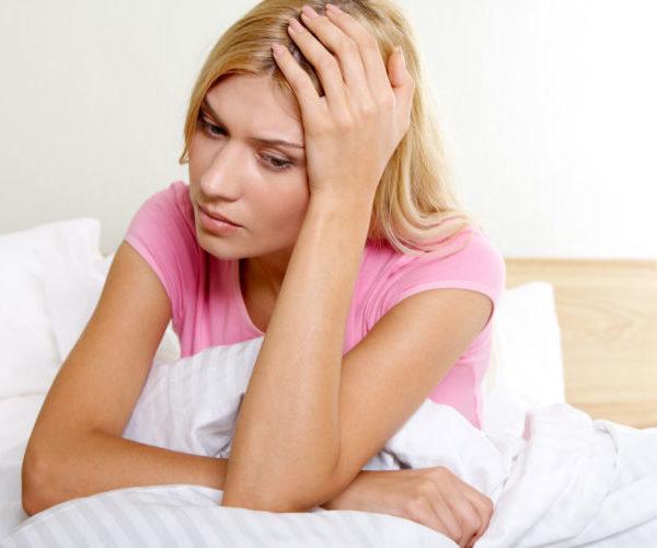Задержка месячных болезненный секс