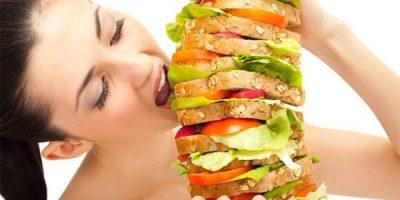 Сильный аппетит