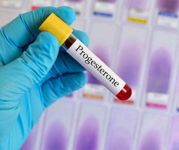 Прогестерон пробирка