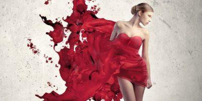 Женщина кровотечение