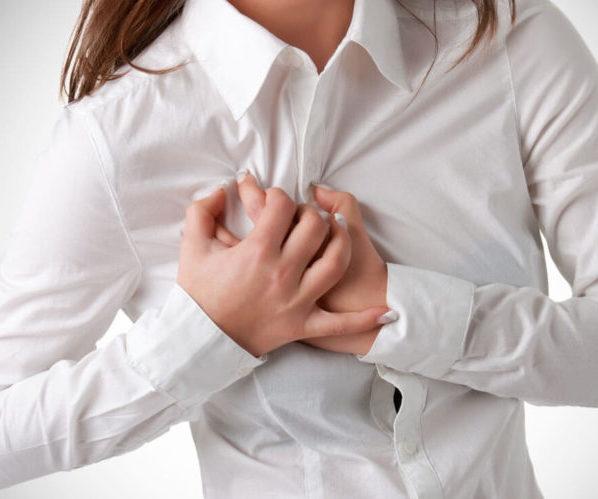 Тяжесть в груди женщина