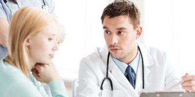 Женщина у гинеколога