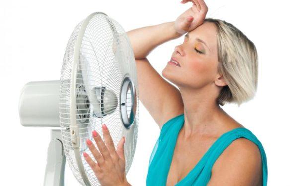 Что вызывает прилив жара во время месячных
