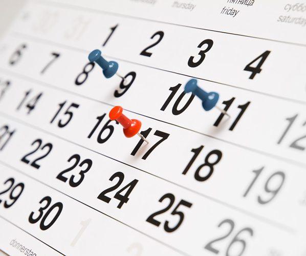 Месячные календарь