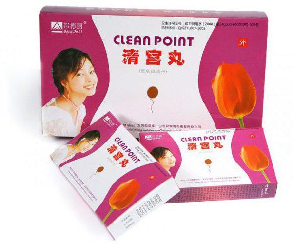 Тампоны clean point