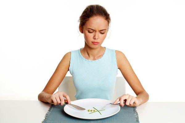 ппричиной может стать длительное голодание или жесткая диета