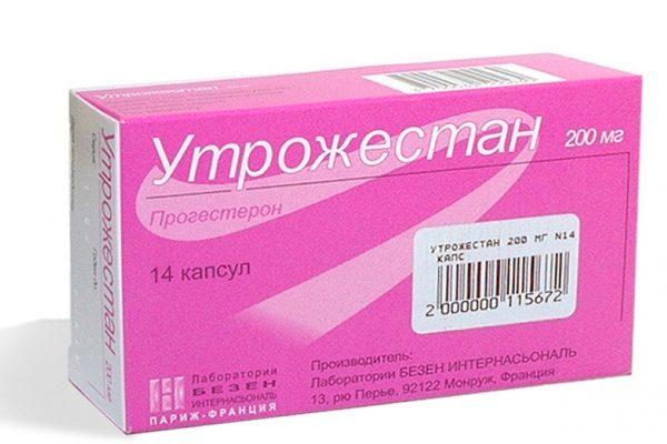 утрожестан - гормональный препарат, который содержит прогестерон
