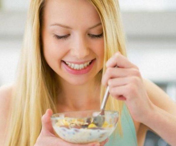 Женщина диетическое питание