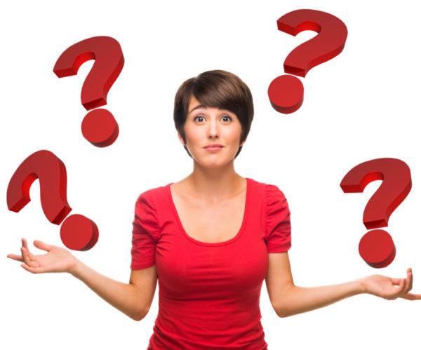 Женщина вопрос