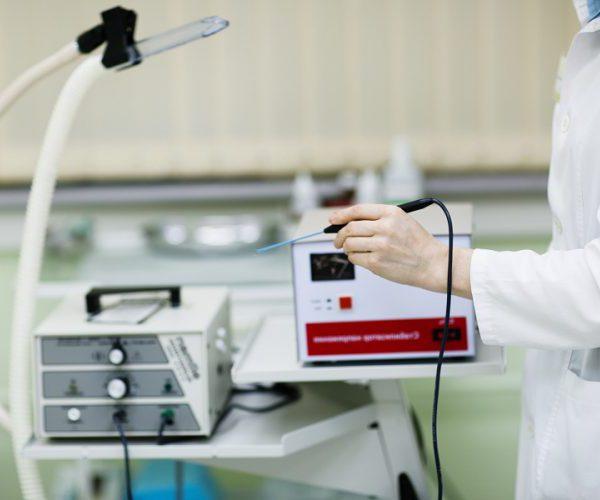 Лазерная радиоволновая терапия