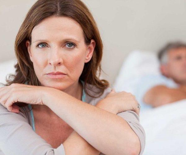 Женщина климакс стресс