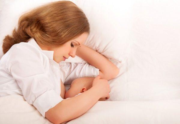 Наступление менструации
