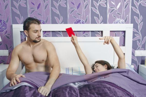 Безопасный секс во время месячных