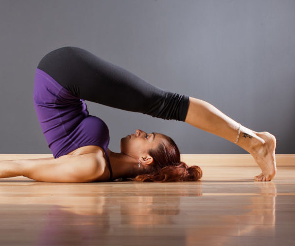 Перевернутые позы йоги