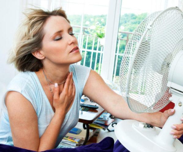 Как избавиться от жара при климаксе