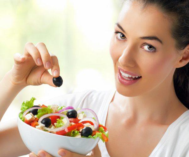 Женщина диета