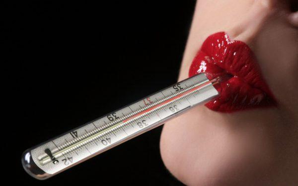 Температура во влагалище перед месячными